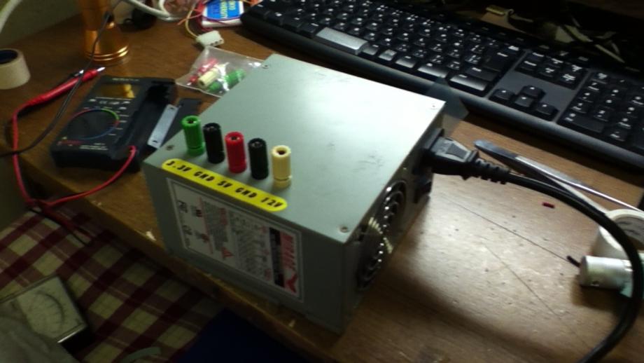 ATX電源 安定化