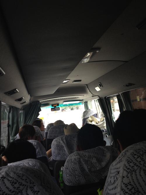 2 CM バス移動