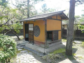 鶴ヶ城茶室