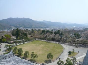 鶴ヶ城景色