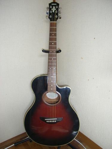 まあ何とも不気味なギター・・