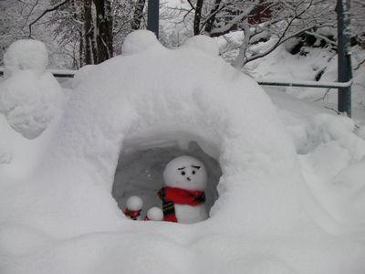 1雪だるま