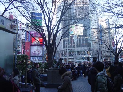 026 人ごみの渋谷
