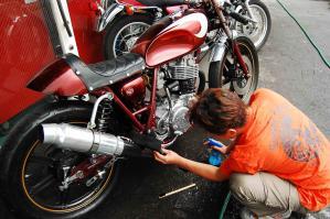 バイク 次世代ボディーコーティング