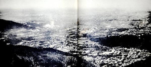 『京都名勝誌』より京都盆地
