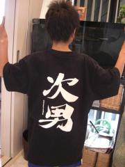 次男Tシャツ