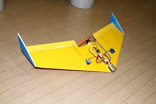 マイクロ無尾翼機111106