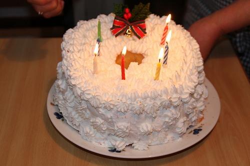 2011クリスマスケーキ
