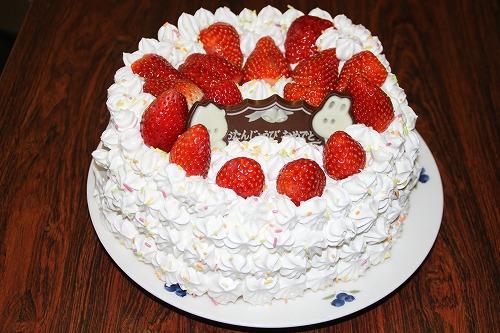誕生ケーキ2012・1・9