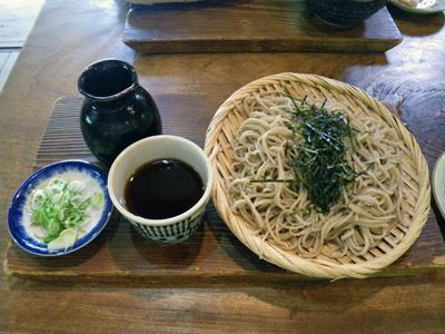 木の小屋蕎麦