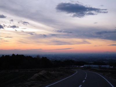 2011年夜明けの関東平野