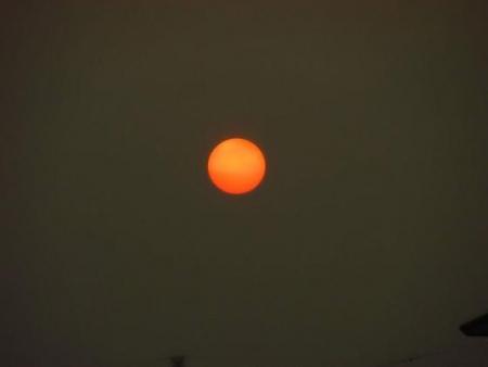 綺麗な夕陽 160
