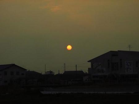 綺麗な夕陽 158
