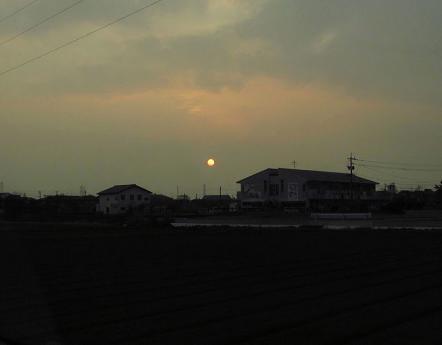 綺麗な夕陽 157