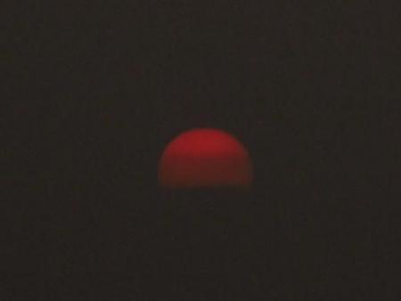 綺麗な夕陽 174