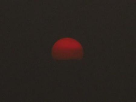 綺麗な夕陽 173
