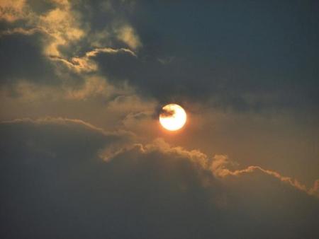 輝く夕陽 007