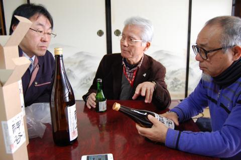 吟醸酒 神谷