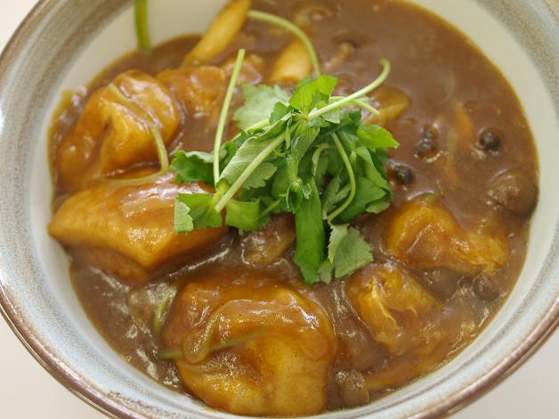 201201豚角煮カレー