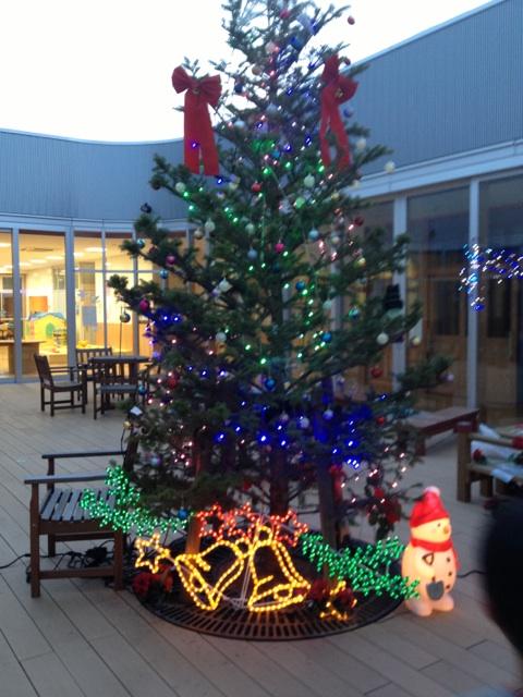 みなみプラザクリスマスツリー