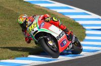 Ducati マシンで走るのは見納めのロッシ