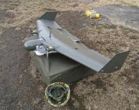 12-滝ヶ原 初展示の無人偵察機