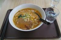 12-道の駅でラーメン食べる。
