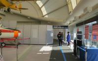 零戦展示会場の入口