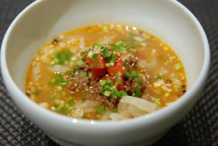 冷たい坦々麺