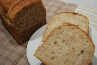 食パン応用編 全粒粉とアマランサス
