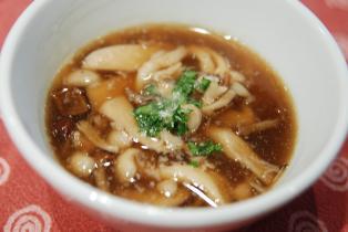 きのこたっぷりスープ