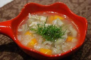 繊維たっぷりごぼうのスープ