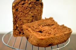 チョコとナッツのライ麦パン
