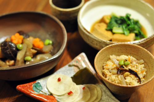金曜日のごはん 和食