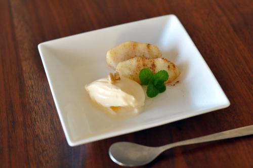 りんごのシナモン煮