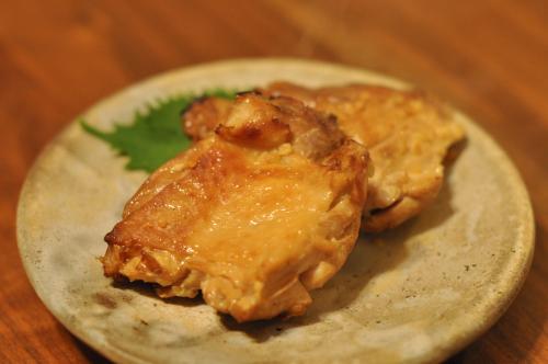 鶏肉の塩糀スモーク