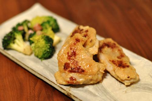 鶏肉のヨーグルト味噌焼