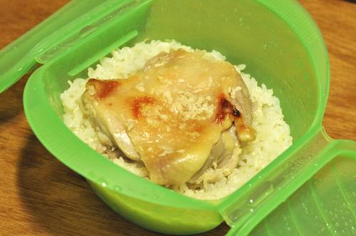 塩麹鶏のカオマンガイ