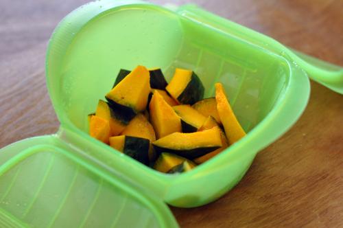 かぼちゃとくるみのサラダ