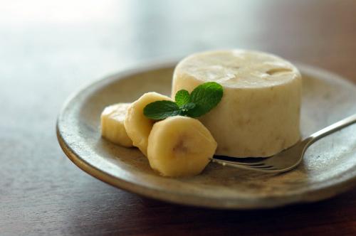 バナナヨーグルトアイス