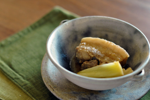豚の醤油麹角煮