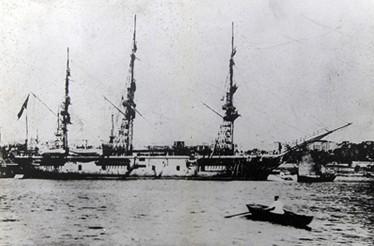 トルコ エルトゥールル軍艦