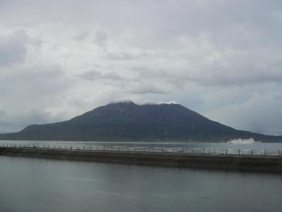 6月21日の桜島