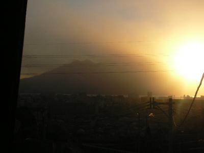 9月28日の桜島