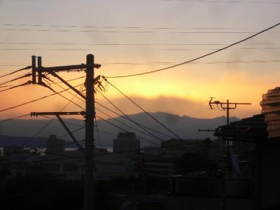 11月2日の朝の風景