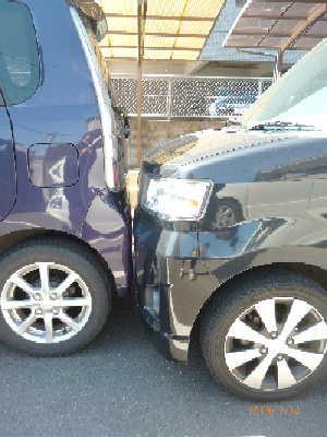 20130224絶妙な駐車テクニック???