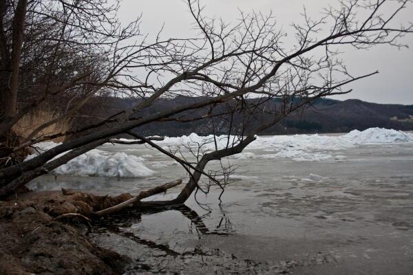 その後の網走湖
