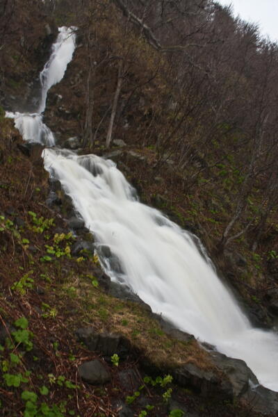 三段の滝  知床ウトロ