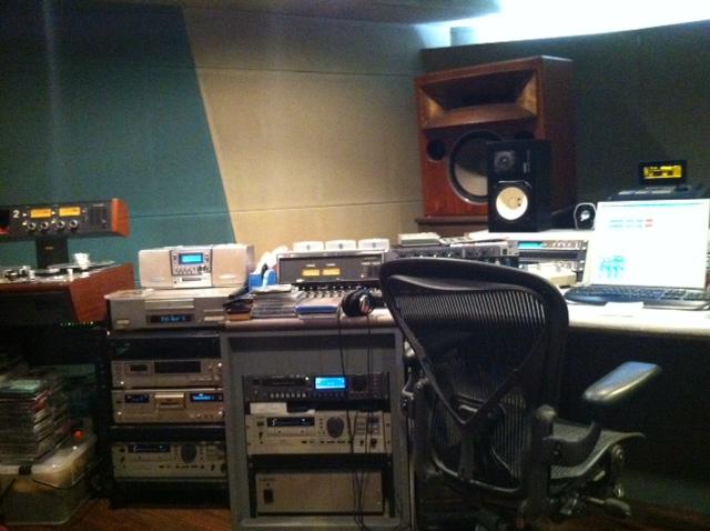 mastaring studio