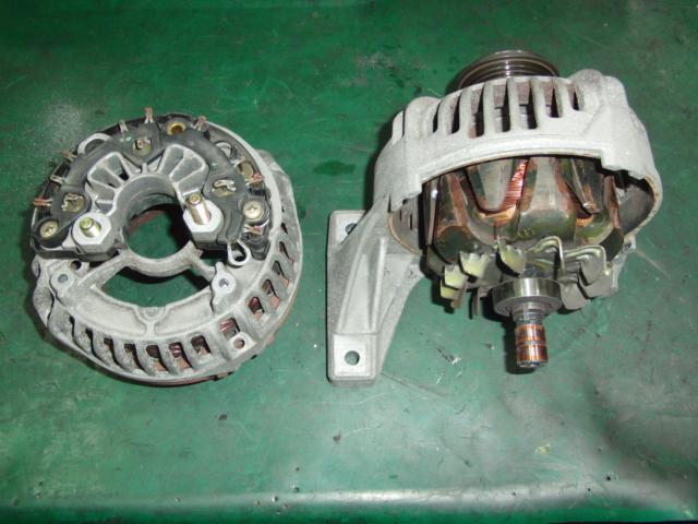 ボルボV70 オルタネーター修理